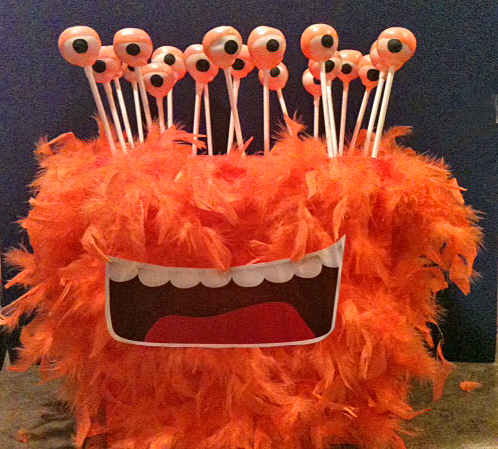 Monster Head Cake Pop Stand!