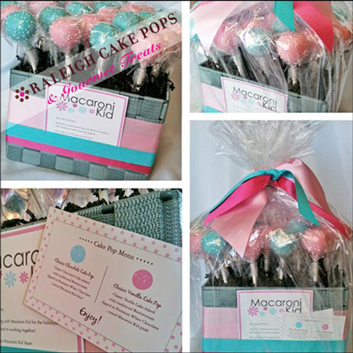 Corporate Gifts by Raleigh Cake Pops