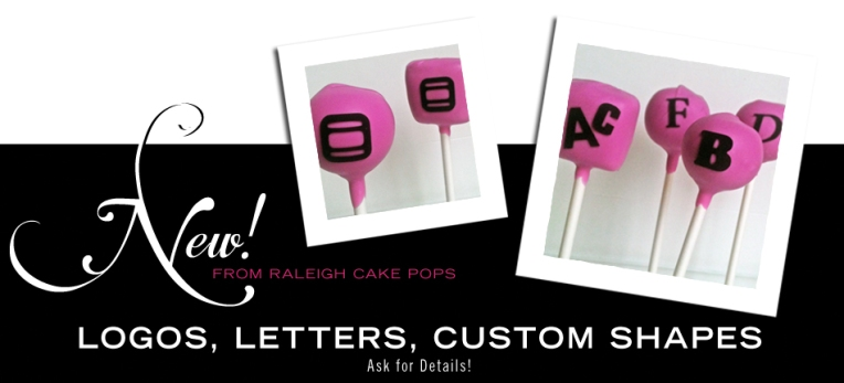 Cake Pops with Logos