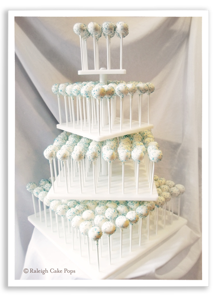 Cupcake And Cake Pop Tower