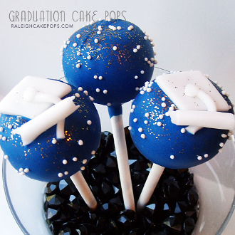 Graduation Cake Pops